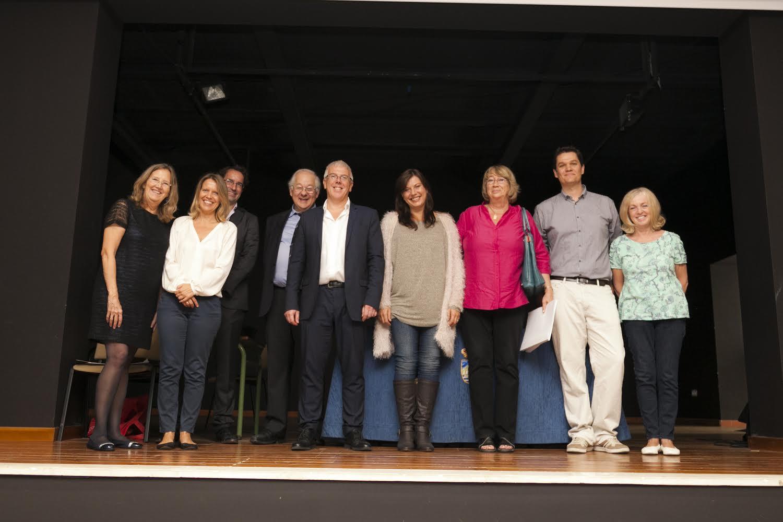 Professores con dignatarios de Cambridge 2014